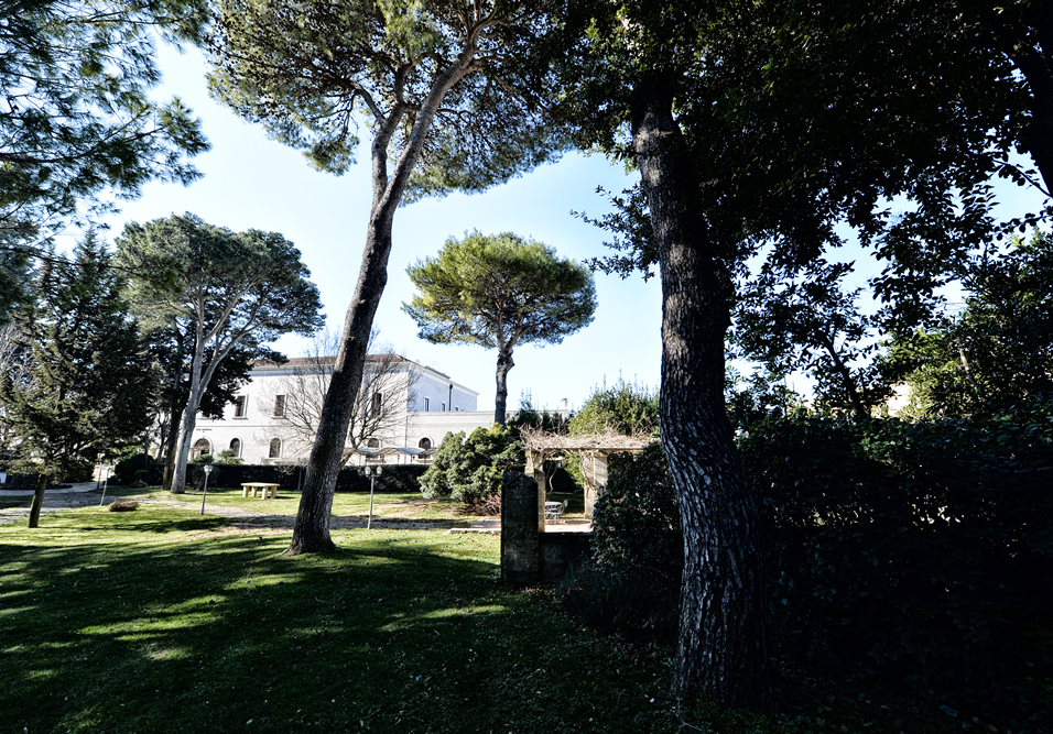 particolare giardino hotel casa isabella pineta