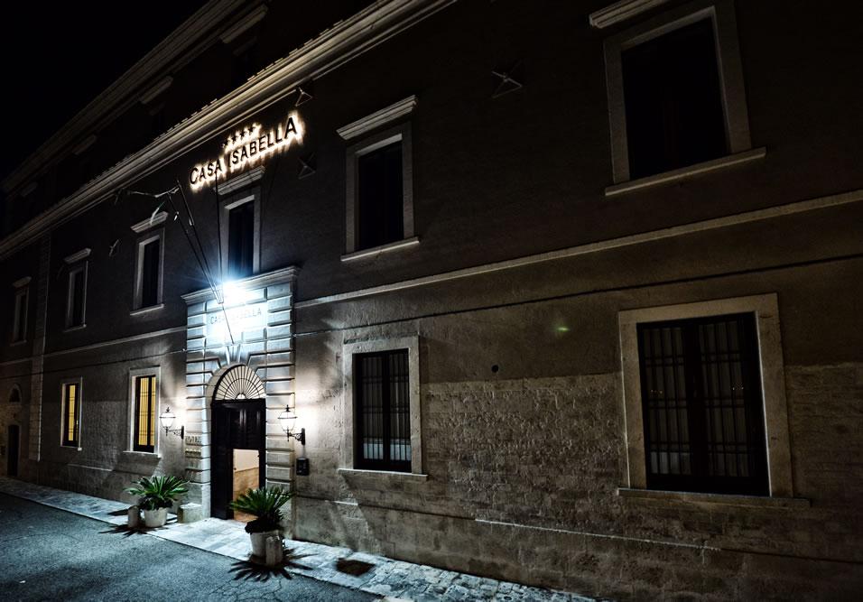 ingresso hotel casa isabella