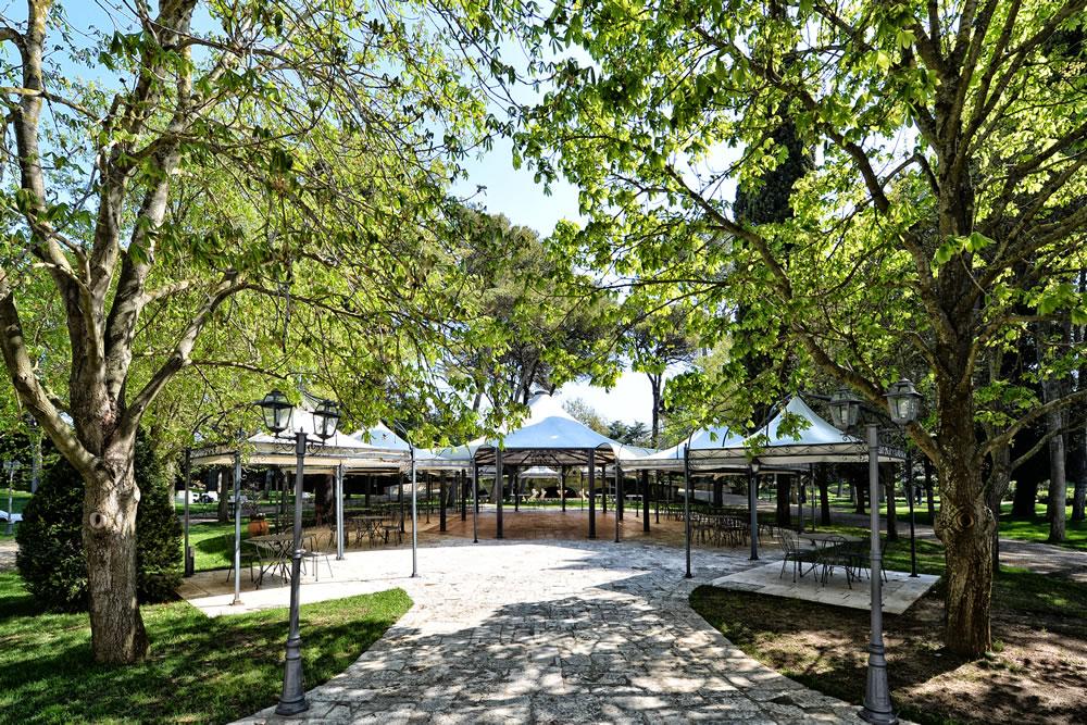 area gazebo hotel casa isabella