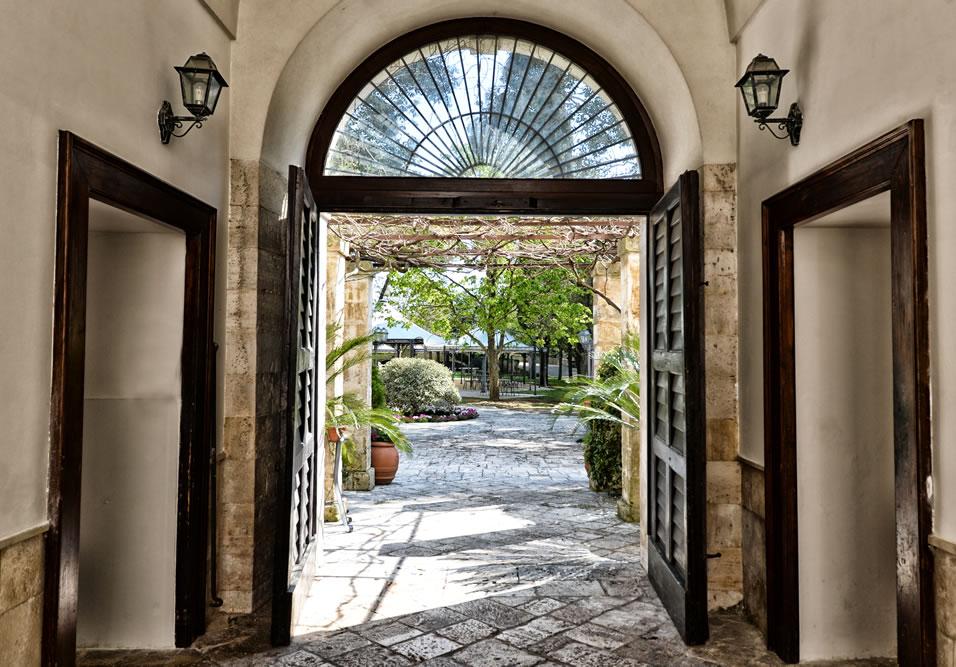 ingresso giardino hotel casa isabella